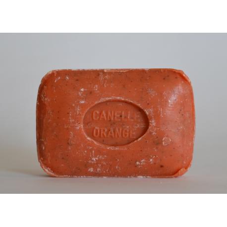 Savonnette Orange Cannelle broyée