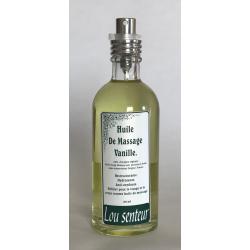 Huile de Massage à la Vanille - Lou Senteurs