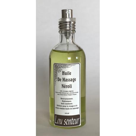 Huile de Massage au Néroli - Lou Senteurs