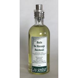 Huile de Massage au Patchouli - Lou Senteurs