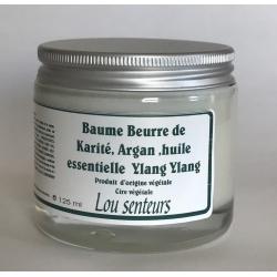 Baume Beurre de Karité, Argan à l'Ylang Ylang - Lou Senteurs
