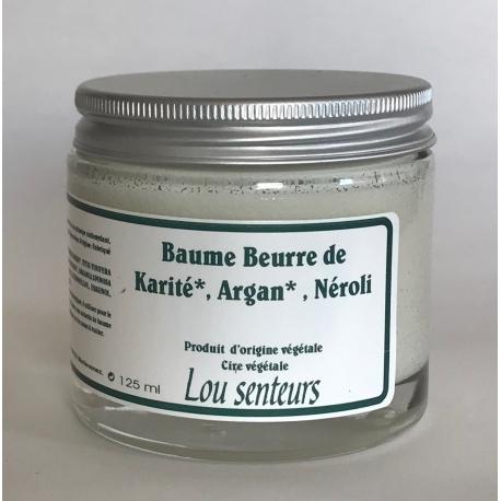 Baume Beurre de Karité, Argan au Néroli - Lou Senteurs