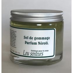 Sel de gommage parfum Néroli – Lou Senteurs