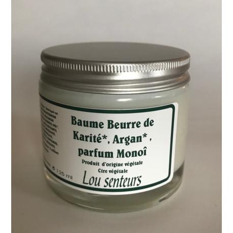 Baume Beurre de Karité, Argan au Monoï - Lou Senteurs
