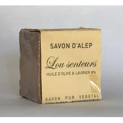 Savon d'Alep 8% de Baie de Laurier